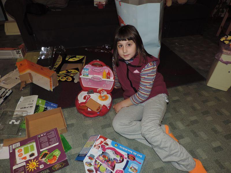 Alexandra and her kitchen set.JPG